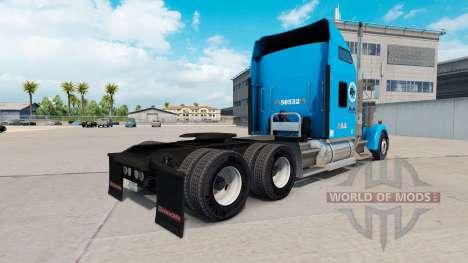 Gordon Camiones de la piel para Kenworth W900 tr para American Truck Simulator