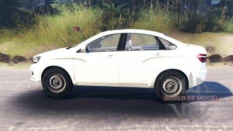 LADA Vesta (ВАЗ-2180) para Spin Tires
