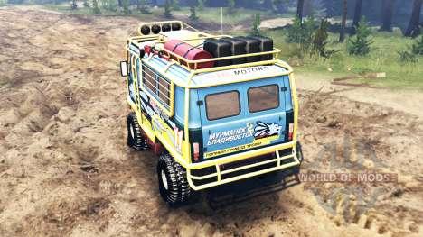 UAZ-3909 v2.0 para Spin Tires