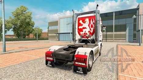 CSAD Turnov de la piel para Scania camión para Euro Truck Simulator 2