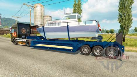 Bajo marco barco para Euro Truck Simulator 2