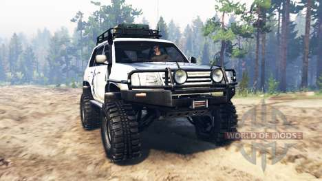 Toyota Land Cruiser 100 2000 [Samuray] para Spin Tires