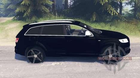Audi Q7 v5.0 para Spin Tires