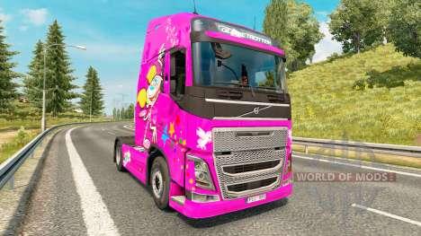 Dee Dee piel para camiones Volvo para Euro Truck Simulator 2