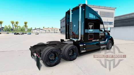 Allen Transporte de la piel para Kenworth tracto para American Truck Simulator