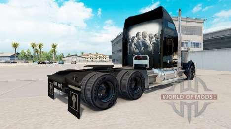 La piel de Rápido y Furioso en el camión Kenwort para American Truck Simulator