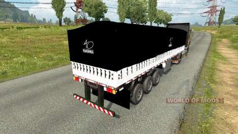 A bordo de la inclinación del semirremolque para Euro Truck Simulator 2
