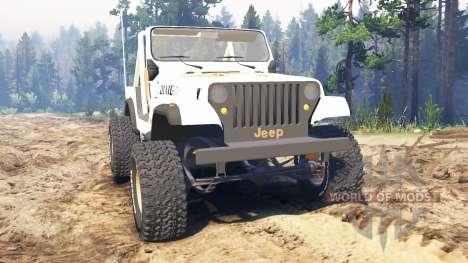 Jeep CJ-7 Renegade [Dixie] para Spin Tires