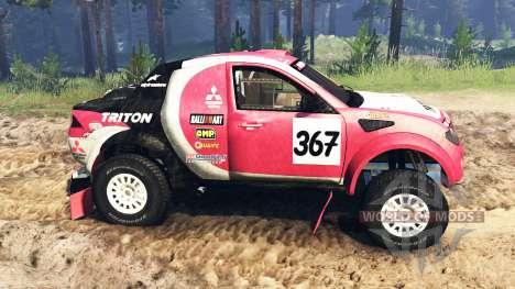 Mitsubishi L200 Triton v2.0 para Spin Tires