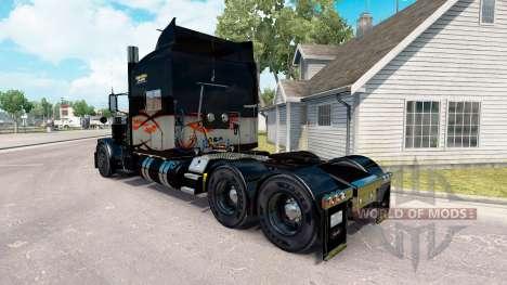 La piel de Larga Distancia para el camión Peterb para American Truck Simulator
