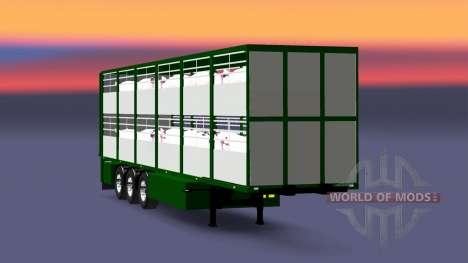 Semirremolque-ganado portador Ferkel Trans para Euro Truck Simulator 2