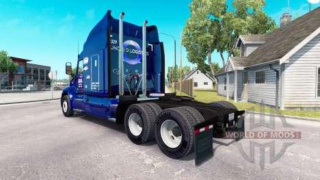 El Tío D Logística de la piel para el camión Pet para American Truck Simulator