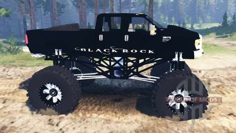 Ford F-350 [black rock] para Spin Tires