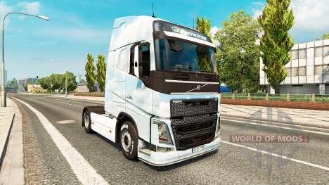 Ido de la piel para camiones Volvo para Euro Truck Simulator 2