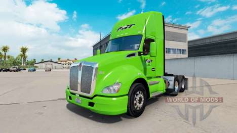 La piel SGT en el tractor Kenworth para American Truck Simulator