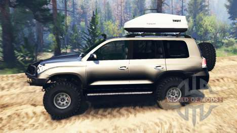 Toyota Land Cruiser 200 2008 v2.0 para Spin Tires
