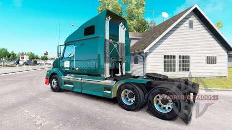 Wilson Camiones de la piel para camiones Volvo V para American Truck Simulator