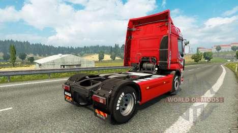 La piel Klanatrans para tractor Renault para Euro Truck Simulator 2