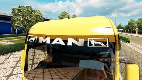 Viseras para el sol para Euro Truck Simulator 2