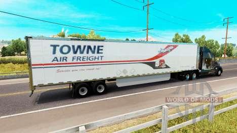 La piel Towne de Aire de Carga en el remolque para American Truck Simulator