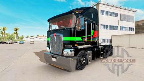 Piel Multicolor tractor Kenworth K200 para American Truck Simulator