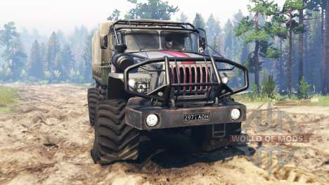 Ural-43206 [scout] para Spin Tires