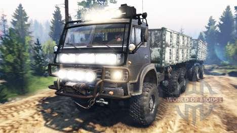 KAMAZ-4310 v3.0 para Spin Tires
