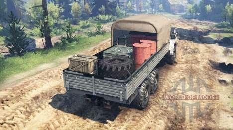 Ural-4320-30 v2.0 para Spin Tires