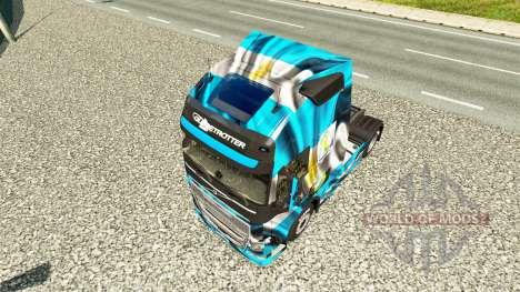 La Argentina de Copa 2014 de la piel para camion para Euro Truck Simulator 2