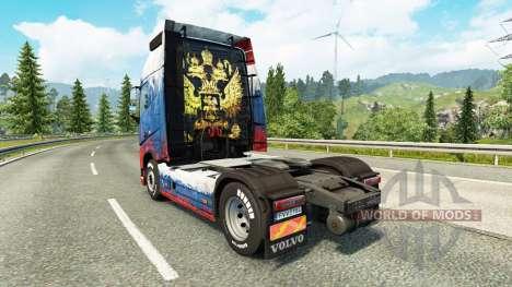 Rusia de la piel para camiones Volvo para Euro Truck Simulator 2