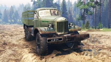 ZIL-157 [Truman] para Spin Tires