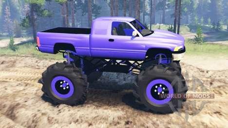 Dodge Ram 2500 para Spin Tires