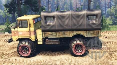 GAZ-66 v2.0 para Spin Tires