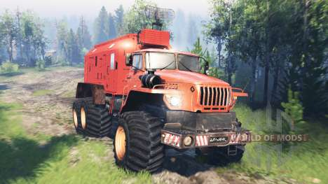 Ural-4320 Polar Explorer v5.0 para Spin Tires