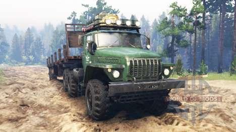 Ural-4320 [tractor] para Spin Tires