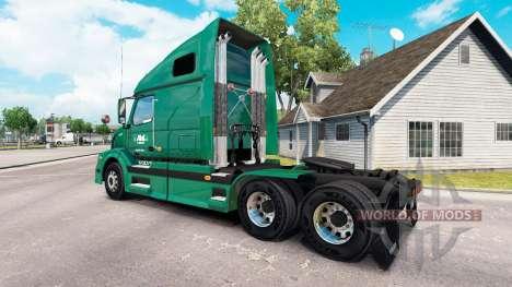 La piel R-L Transportistas en el camión Volvo VN para American Truck Simulator