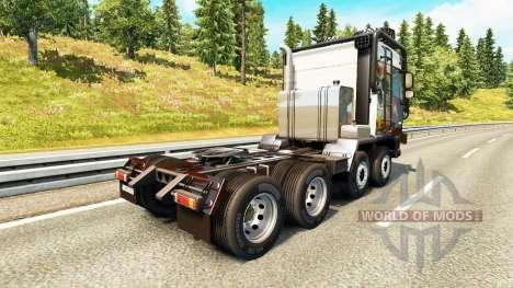 DAF XF [crawler & high lift] para Euro Truck Simulator 2