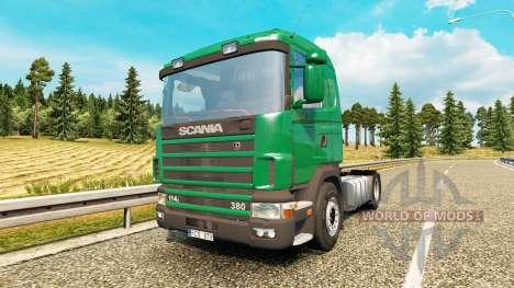 Scania 114L 380 v2.0 para Euro Truck Simulator 2