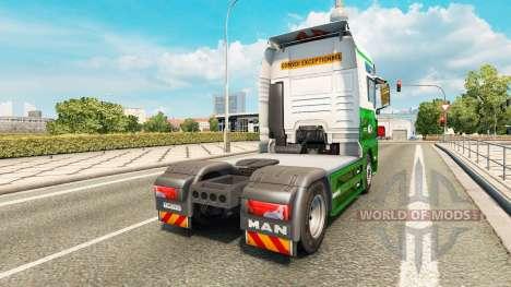 La piel Westdijk B. V. el HOMBRE. para Euro Truck Simulator 2