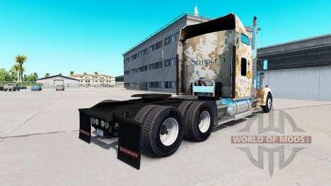 La piel de Ingenieros de Combate de la infanterí para American Truck Simulator
