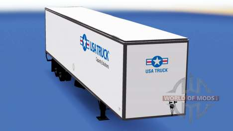 De metal semi-remolque, Camión, estados UNIDOS para American Truck Simulator