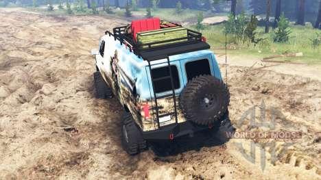 Ford E-350 [econoline safari] para Spin Tires