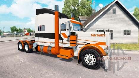 La piel Big Shot en el camión Peterbilt 389 para American Truck Simulator