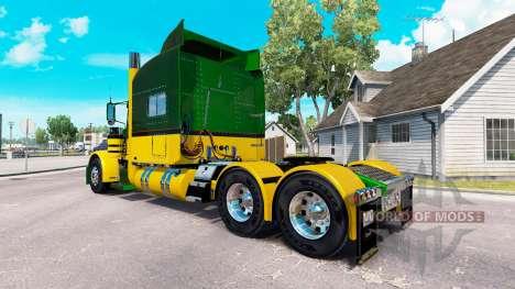 Guzmán Expresa de la piel para el camión Peterbi para American Truck Simulator