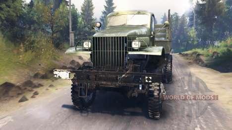 GMC CCKW 352 para Spin Tires