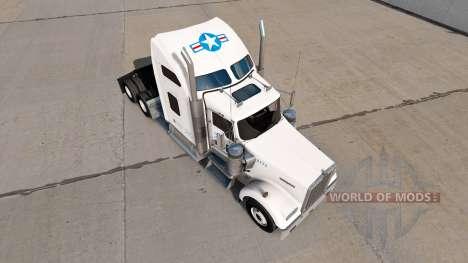 La piel de estados UNIDOS camión Camión Kenworth para American Truck Simulator