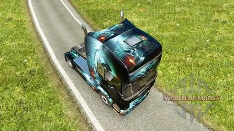 PC Ware de la piel para Scania camión para Euro Truck Simulator 2