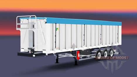 El semirremolque Benalu volquete para Euro Truck Simulator 2