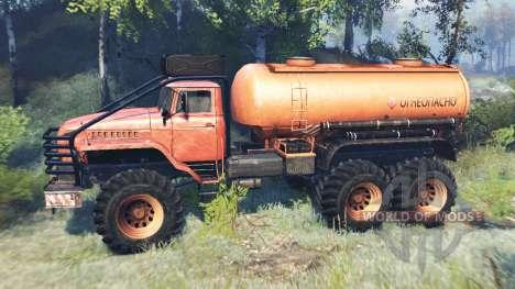 Ural-4320 Polar Explorer v7.0 para Spin Tires