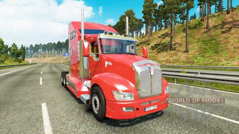 Kenworth T660 [fix] para Euro Truck Simulator 2